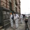 Porteños salen a la calle a combatir los rayados en la ciudad (FOTOS)